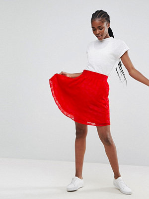 Minimum Textured Skater Skirt