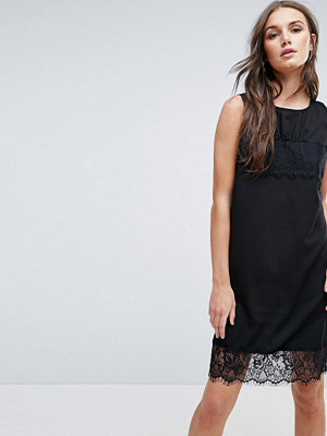 Y.a.s Talla Lace Trim Shift Dress