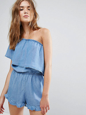Jumpsuits & playsuits - Pull&Bear One Shoulder Playsuit