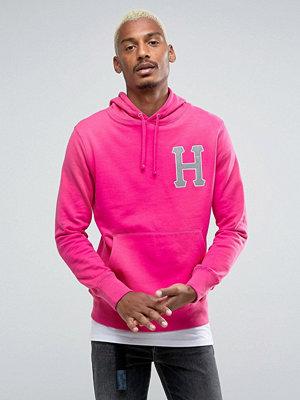 Street & luvtröjor - Huf Hoodie With Reflective Applique Logo