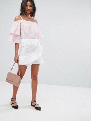 Miss Selfridge Ruffle Mini Skirt