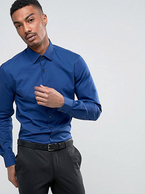 Calvin Klein Skinny Smart Shirt With Stretch