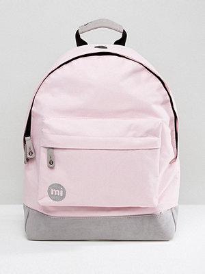 Mi-Pac ryggsäck Classic Backpack in Blush Pink & Grey