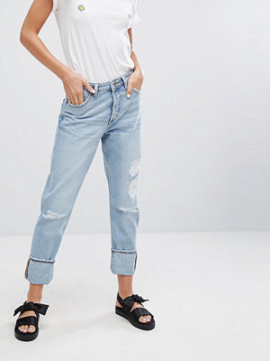 Monki Imoo Disorted Jeans