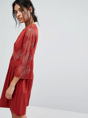 Gestuz Lace Insert Dress