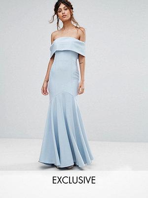 Jarlo Bandeau Maxi Dress with Fishtail