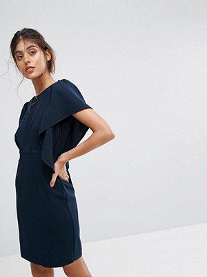 Closet London Cape Sleeve Midi Dress
