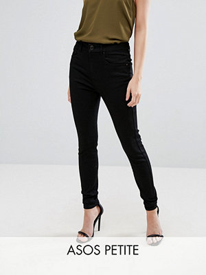 ASOS Petite 'SCULPT ME' Premium Helsvarta jeans Rensvarta