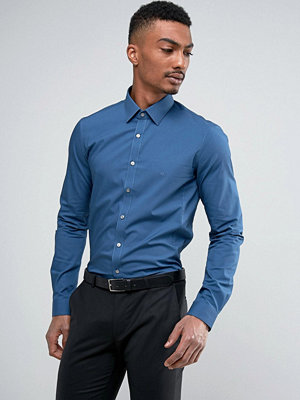 Calvin Klein Super Skinny Smart Shirt With Stretch