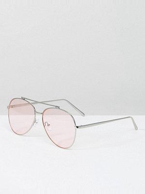 Solglasögon - Skinnydip Aviator Sunglasses with Blush Lens