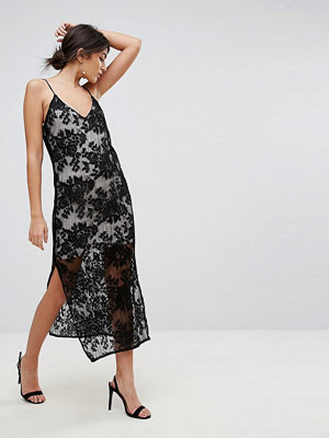 TFNC Lace Cami Midi Dress