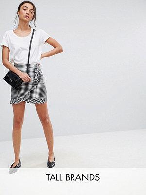 Parisian Tall Frill Gingham Skirt