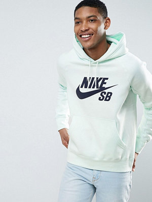 Nike Sb Mint Pack Icon Pullover Hoodie In Mint Green 846886-372