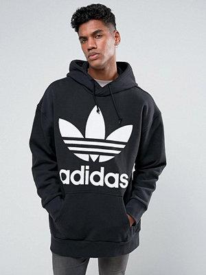 Adidas Originals Boxy Oversized Hoodie In Black BR5078