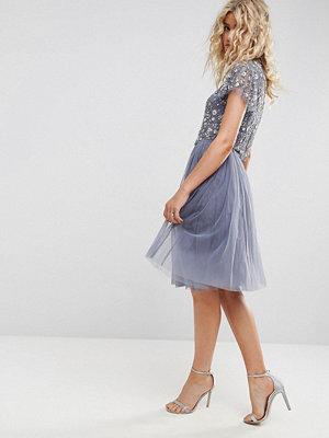 Needle & Thread Needle and Thread Tulle Midi Skirt