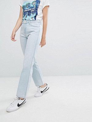Wrangler Mom-jeans med normal passform Light stone blue