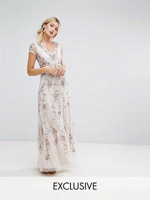 Amelia Rose Embellished Maxi Dress
