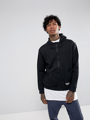 Adidas Originals NMD Half-Zip Hoodie In Black BS2552