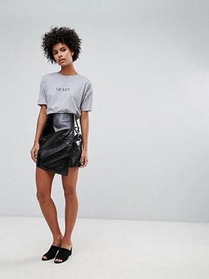 Vero Moda Vinyl Wrap Skirt