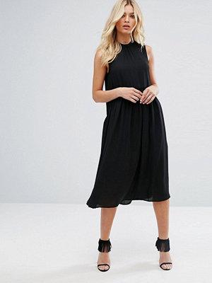 Y.a.s High Neck Midi Dress