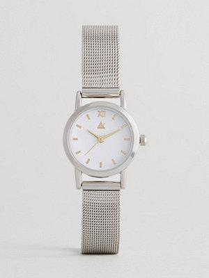 Klockor - ASOS Mini Silver Mesh Watch