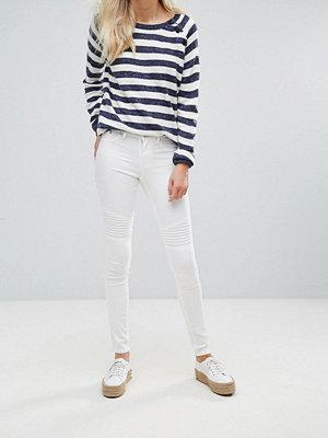 Blend She Bright Whitney Vita skinny jeans Kritvit