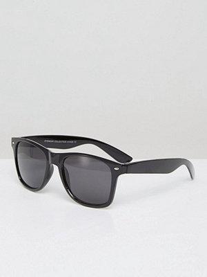 Solglasögon - 7X Square Sunglasses In Black