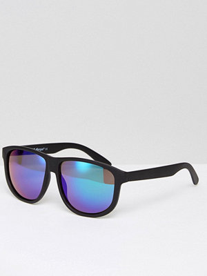 Solglasögon - AJ Morgan A J Morgan Riley Square Sunglasses In Black