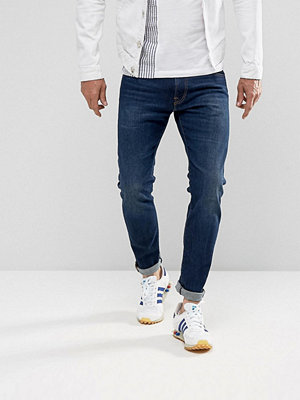 Jeans - Edwin ED-85 Slim Tapered Drop Crotch Jeans Solstice Wash