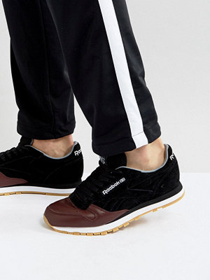 Sneakers & streetskor - Reebok Classic Leather LS Trainers In Black BS5079