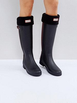 Hunter Original Svarta boot-strumpor Bk1 svart 1