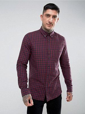 Skjortor - HYMN Vaynor Brushed Check Shirt