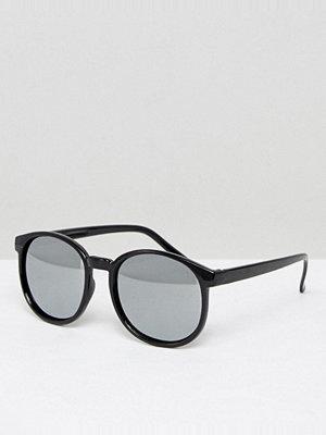 Solglasögon - 7X Round Sunglasses In Black