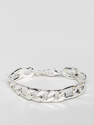 ASOS Heavyweight Chain Bracelet In Silver
