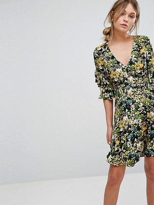 Warehouse Painted Meadow Tea Dress