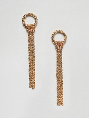 Pieces Chain Drop Earrings