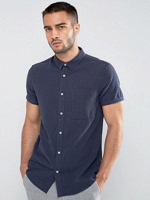 Skjortor - New Look Regular Fit Shirt In Navy