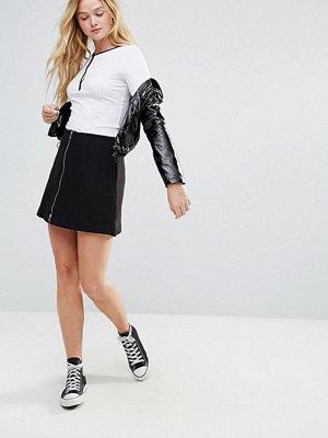Kjolar - Monki Zip Through Skirt