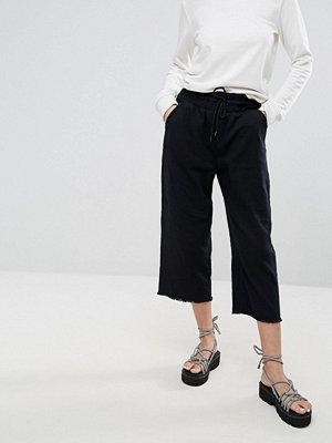 Jeans - Cheap Monday Flow Cropped Denim Joggers