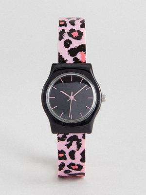 Klockor - ASOS Animal Print Silicon Watch