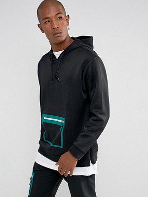 Adidas Originals EQT Macadam Hoodie In Black BQ2080