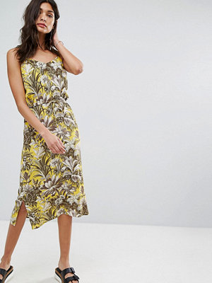 Warehouse Amazon Print Dress