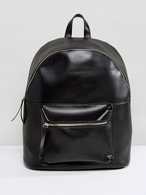 Pieces ryggsäck Leather Look Back Pack