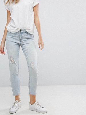 Jdy Silver Ripped Boyfriend Jeans