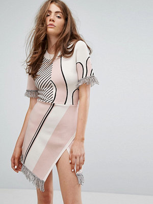 Weekday Press Collection Jacquard Knitted Dress