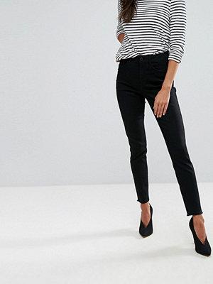 Vero Moda Raw Hem Skinny Jeans