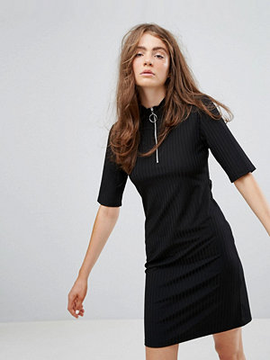 Weekday Dress with Zip Detail