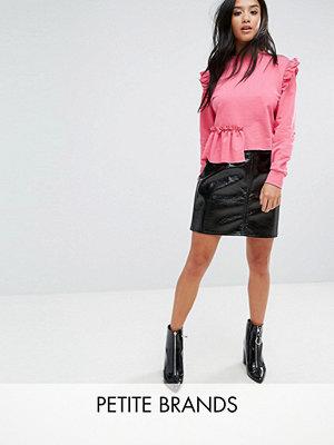 Miss Selfridge Petite Vinyl Skirt