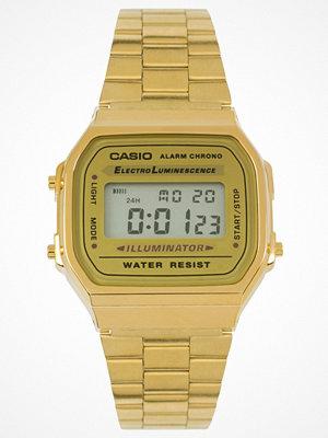 Klockor - Casio A168WG-9EF Gold Plated Digital Watch