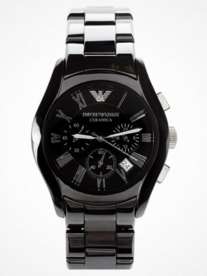 Klockor - Emporio Armani AR1400 Chronograph Black Ceramic Watch